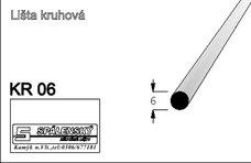 Lišta KR06-Buk 90cm