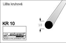 Lišta KR10-Buk 90cm