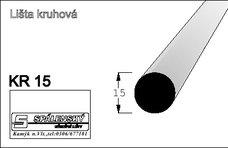 Lišta KR15-Buk 90cm