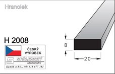 Lišta H 2010-Buk 90cm