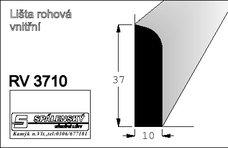 Lišta RV3710 nastav.smrk 2400