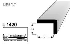 Lišta L1420 nastav smrk 2400