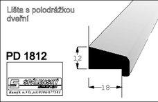 Lišta PD1812 nastav.smrk