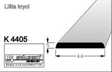 lišta K4405 nastav.smrk 2000 mm