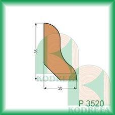 lišta SM P 3520-2500