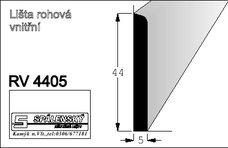 Lišta RV4405 nastav smrk 2400