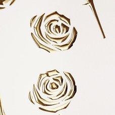 PL 3D ROSES PearlWhite/Gold 2600x1000 SA 16444