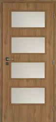 dveře Dominant Ořech 60 P lamin, DTD